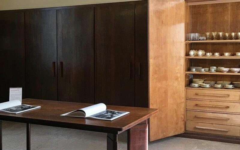 The Villa Necchi Campiglio kitchen by Piero Portaluppi
